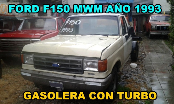 Ford F150 Año 1993 Con Motor Mwm Turbo