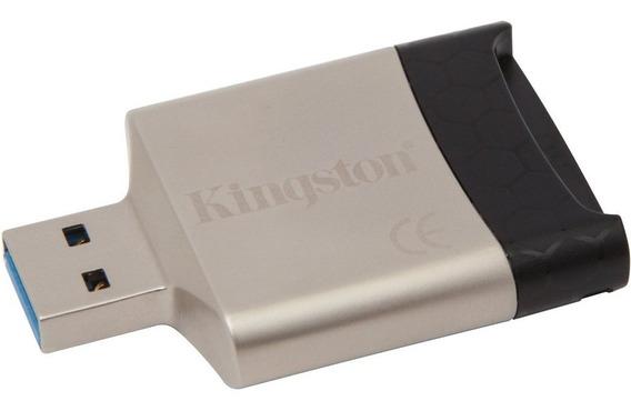 Leitor De Cartão De Memória Externo Kingston Usb 3.0