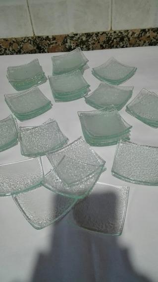 Platito Mini Transparente Ideal Artesanías