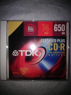 Cd-r Tdk 74 Minutos
