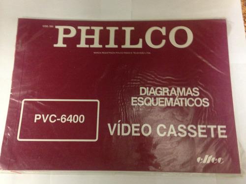 Diagrama Vídeo Cassete Philco - Cod.392