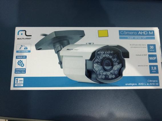 Câmera Multilaser Se142 Sensor 1/4 Ahd-m, Ahd-l, Analógica