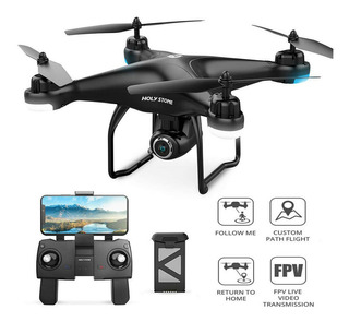 Drone Quadricóptero Holy Stone Hs120d Gps Wifi 1080p Amv