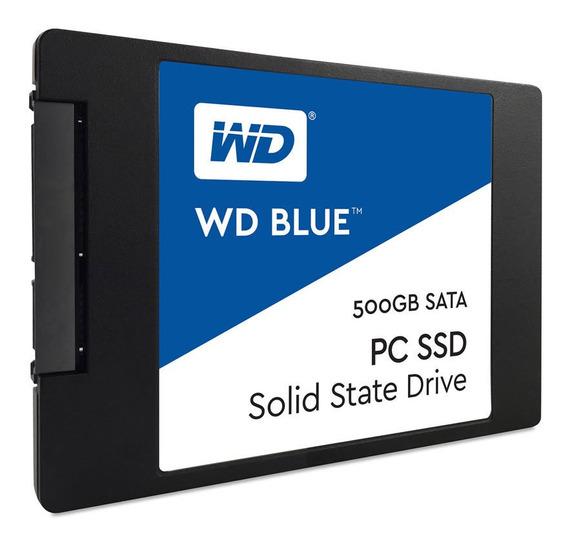 Disco Estado Solido Ssd Wd 500gb Blue 6 Gb/s