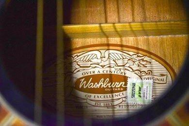 Guitarra Electroacustica Washburn Ea12