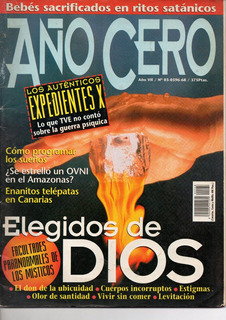 Revista Espanhola Año Cero, Ano Vi, Nº 03, C. 1998 - Enigmas