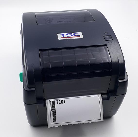 Impressora De Etiquetas | Ttp-244ce | Rede, Usb, Semi-nova
