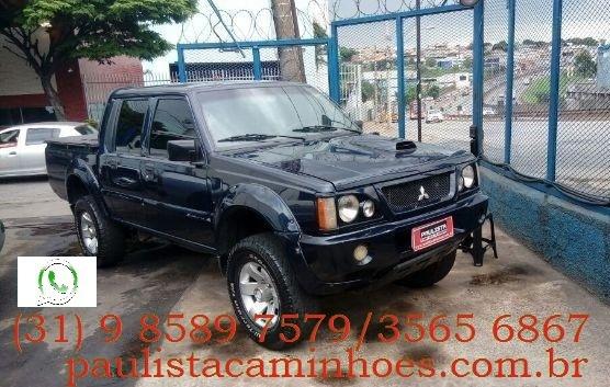 L 200 4#4 2006 Cab.dupla A Disel Aceito Troca Por Caminhao