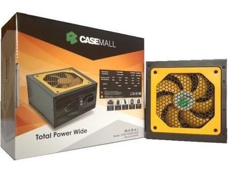 Fonte Atx 500w 4+4pinos Total Power All-500tpw Casemall