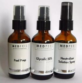 Kit Peeling Ácido Glicólico 50% - 60 Ml