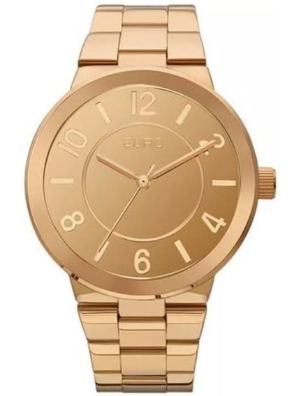 Relógio Euro Espelhados Rose Gold Eu2036yle/4x Feminino
