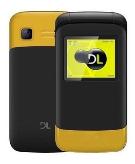 Celular Dl Desbloqueado Com Dual Chip Câmera Yc-230
