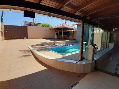Casa Com 3 Dormitórios À Venda, 240 M² Por R$ 450.000 - Ideal - Londrina/pr - Ca1236