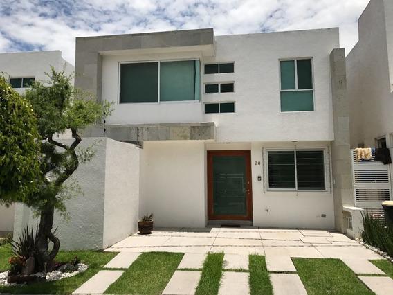 Casa En Renta En Puebla Blanca, Lomas De Angelópolis Ii