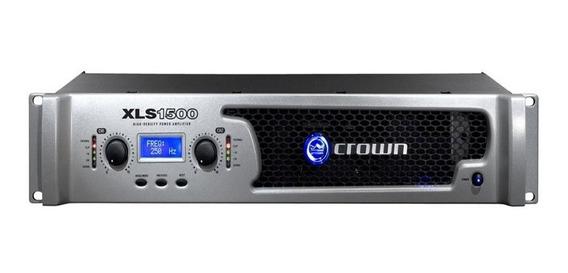 Power Amplificador Crown Xls 1500 Totalmente Nuevo Sellado