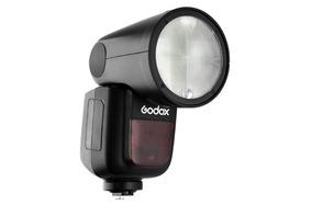 V1 V1n Flash Godox Ttl Hss Nikon Cabeça Redonda Profoto