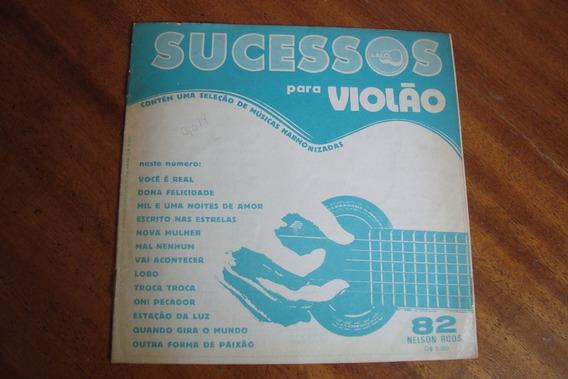 Revista Nelson Roos 82 / Album De Sucessos Para Violao