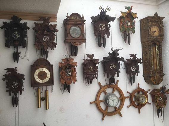 Relojes Cucus Y De Pared Alemanes Vintage
