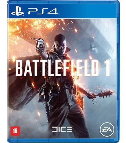 Jogo Battlefield 1 Playstation 4 Ps4 Mídia Física Lacrado