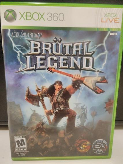 Brutal Legend Xbox 360 One Semi Novo Perfeito