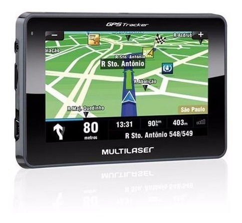 Gps Automotivo Multilaser Tracker Tela 4.3 Touch Mp3 Radar