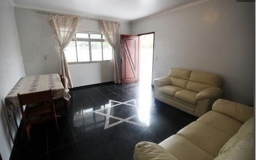 Imagem 1 de 8 de Casa No Bairro Grandesp Com Churrasqueira ,itanhaém -ca336-f