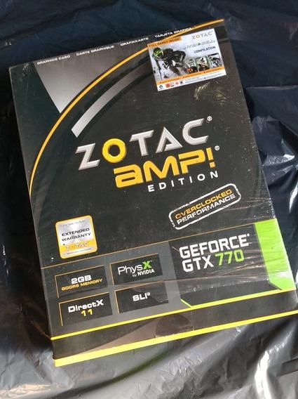Placa De Video Geforce Gtx 770 2gb Gddr5 Amp! Edition