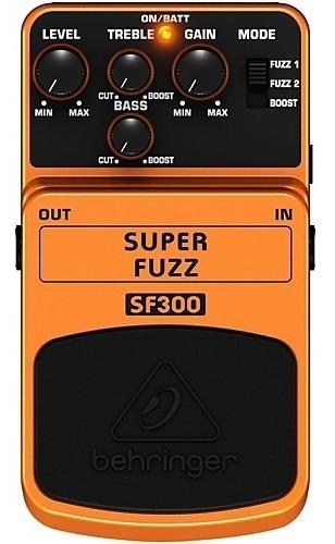 Pedal Behringer Sf300 Super Fuzz / Booster
