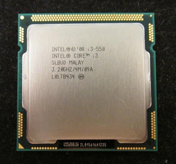 Processador Intel Core I3-550 3,20ghz 4m Cache Socket 1156