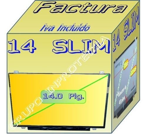 Pantalla Display 14.0 Slim Compatible Con B140xw02 V.2