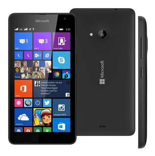 Smartphone Microsoft Lumia 8gb 535 Windows Phone Preto