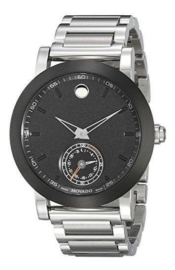 Reloj Elegante De Acero Inoxidable 0660001 De Movado Con Esf