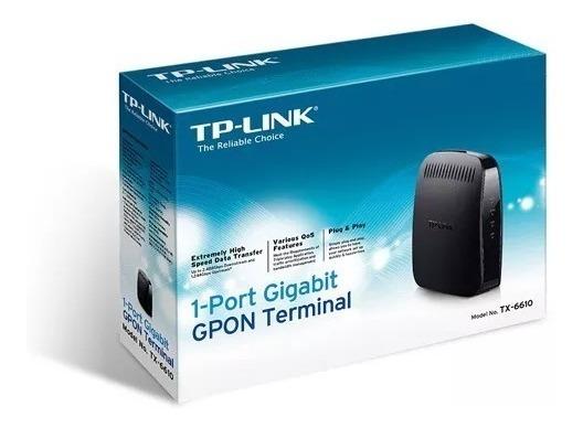 Modem Gigabit Gpon Tp-link Tx-6610 / Fibra Optica Hd Voip Lz