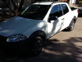 Fiat Strada 1.4 Working Cd 2017 Doble Cabina Unico Dueño