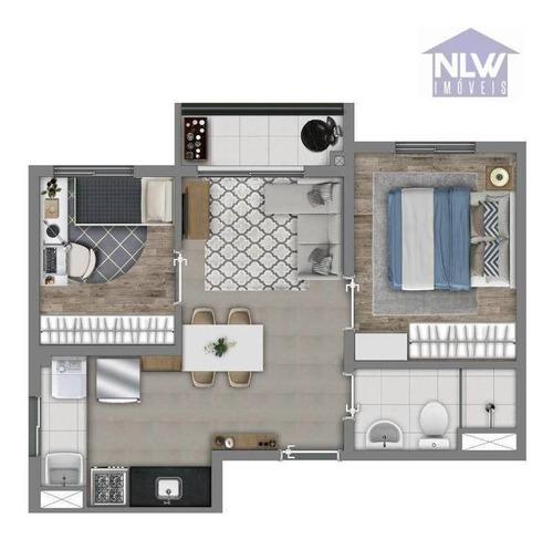 Apartamento Com 2 Dormitórios À Venda, 37 M² Por R$ 210.340,00 - Belenzinho - São Paulo/sp - Ap2801