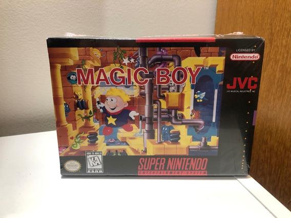 Magic Boy Original Novo Lacrado Super Nintendo Snes