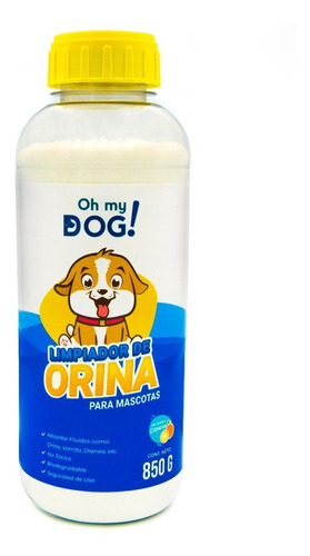 Imagen 1 de 5 de Oh My Dog - Absorbente De Orina Para Perro - 1 Pz 850 Grs