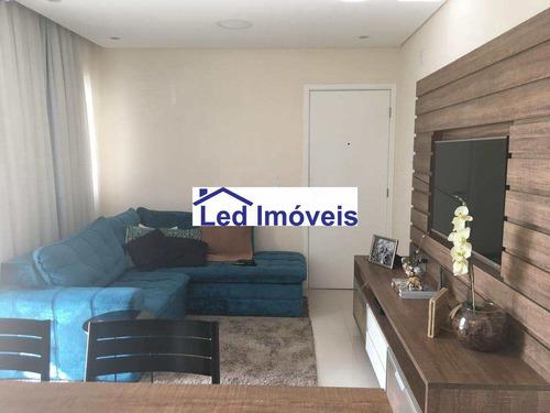 Imagem 1 de 19 de Apartamento Com 3 Dorms, Novo Osasco, Osasco - R$ 409 Mil, Cod: 1101 - V1101