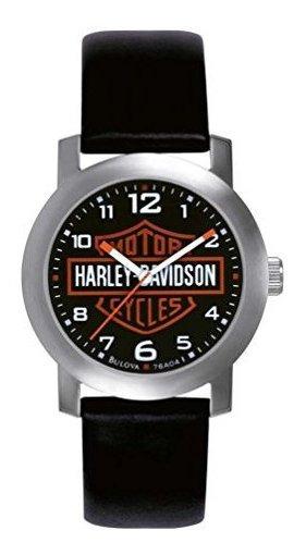 Reloj Con Escudo Y Escudo Para Hombre De Harley Davidson Bul