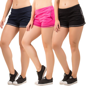35805802b Short Moleton Feminino - Shorts para Feminino no Mercado Livre Brasil