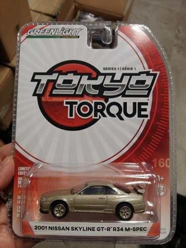 Greenlight - Tokyo Torque - 2001 Nissan Skyline Gt R M-spec
