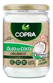 Oleo De Coco Extra Virgem Organico 500ml - Copra