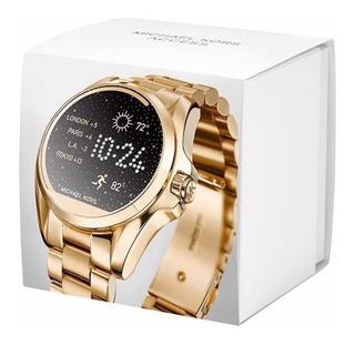 Relogio Michael Kors Mkt5001 Access Gold Dourado Smartwatch