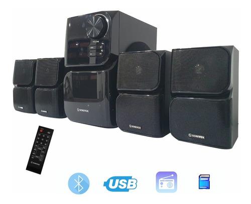 Teatro En Casa 4.1 Bluetooth Radio Fm Puerto Ubs