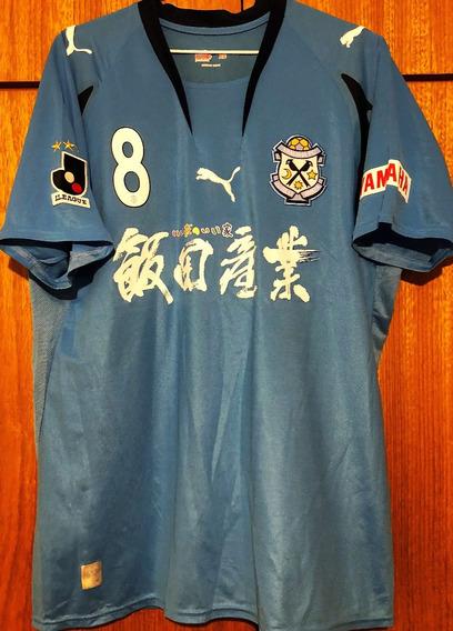 Camisa Do Jubilo Iwata Usada Em Jogo J-league 2007