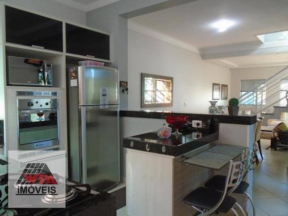 Casa Com 3 Dormitórios À Venda, 180 M² Por R$ 490.000,00 - Jardim Boer I - Americana/sp - Ca2124