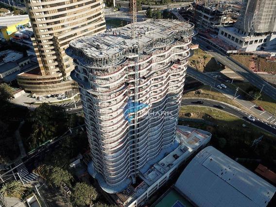 Apartamento Com 1 Dormitório À Venda, 53 M² Por R$ 385.000 - Alphaville Industrial - Barueri/sp - Ap0017