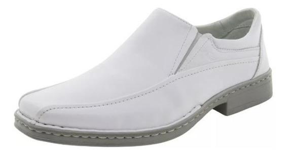 Sapato Rafarillo 8973 Social Couro Branco
