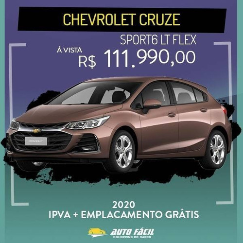 Chevrolet Cruze 1.4 Turbo Sport6 Lt 16v Flex 4p Automático