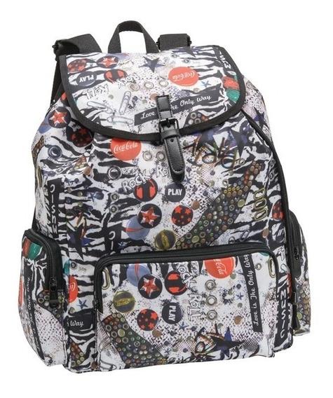 Mochila Saco Backpack Coca Coca Juvenil Coke Feminina 711051